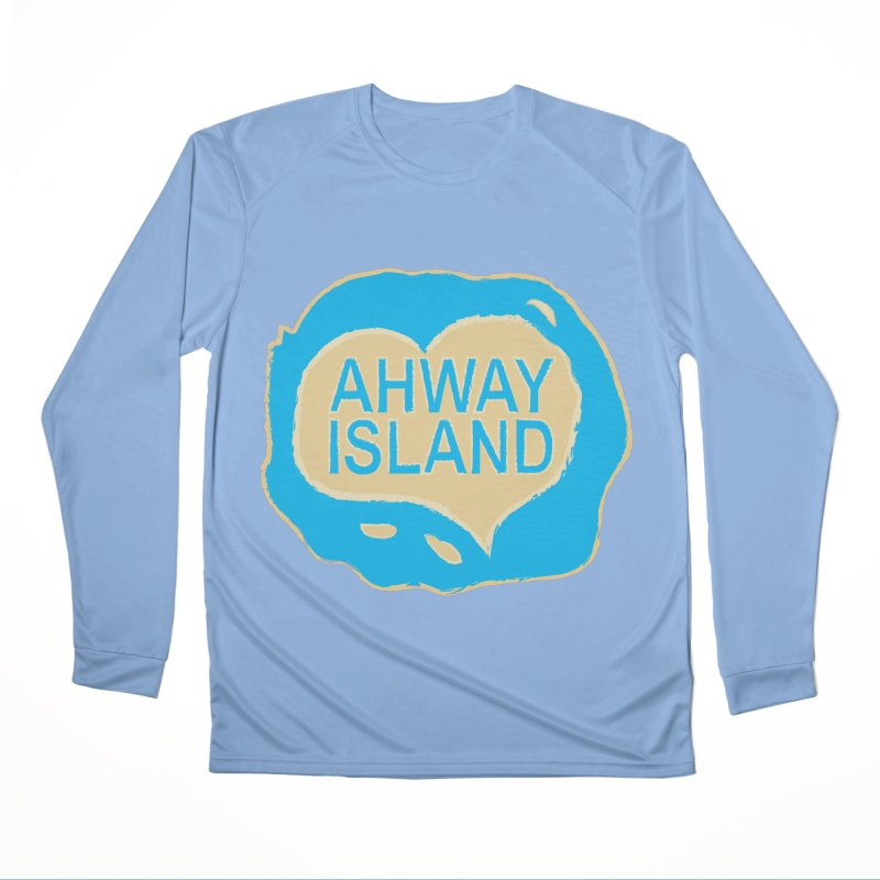 Welcome to Ahway Island Merchandise Women's Performance Unisex Longsleeve T-Shirt by ahwayisland's Artist Shop