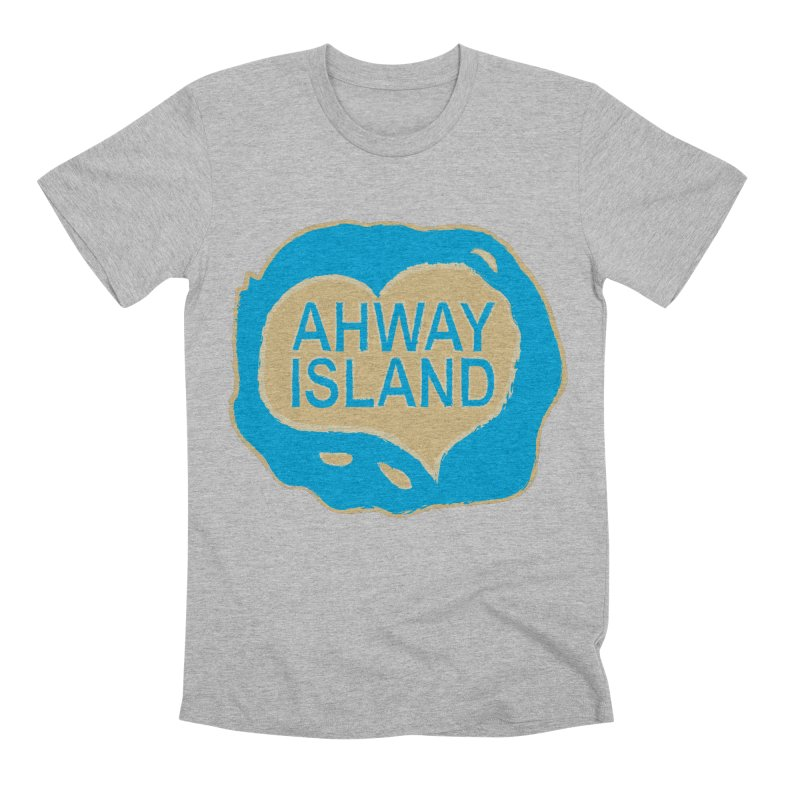 Welcome to Ahway Island Men's Premium T-Shirt by ahwayisland's Artist Shop