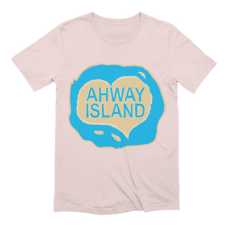 Welcome to Ahway Island Merchandise Men's Extra Soft T-Shirt by ahwayisland's Artist Shop