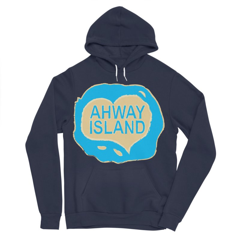 Welcome to Ahway Island Merchandise Men's Sponge Fleece Pullover Hoody by ahwayisland's Artist Shop
