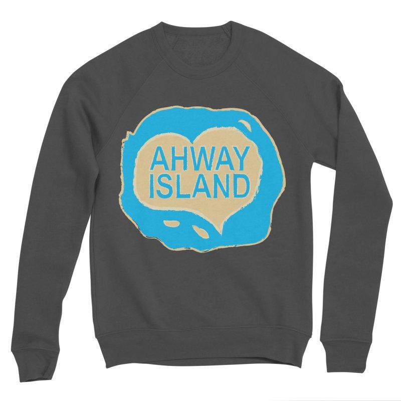 Welcome to Ahway Island Men's Sponge Fleece Sweatshirt by ahwayisland's Artist Shop