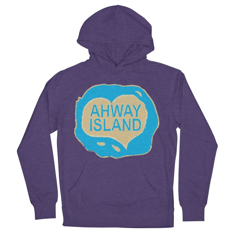 Welcome to Ahway Island Women's French Terry Pullover Hoody by ahwayisland's Artist Shop