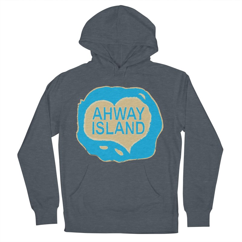 Welcome to Ahway Island Merchandise Men's French Terry Pullover Hoody by ahwayisland's Artist Shop
