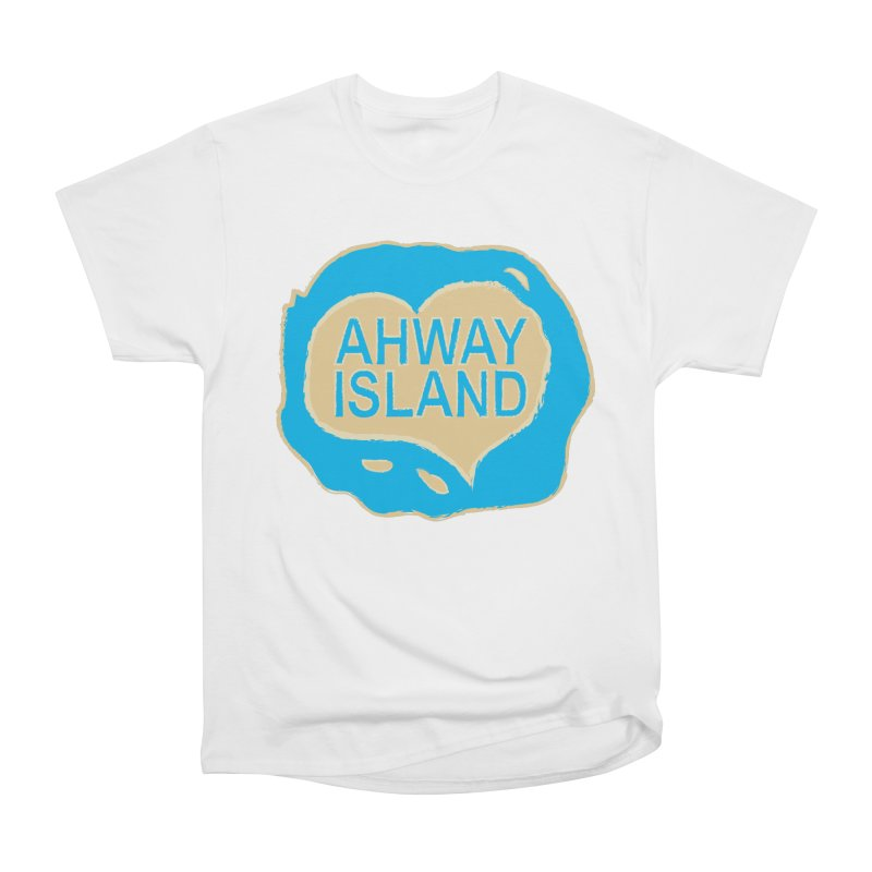 Welcome to Ahway Island Merchandise Men's Heavyweight T-Shirt by ahwayisland's Artist Shop