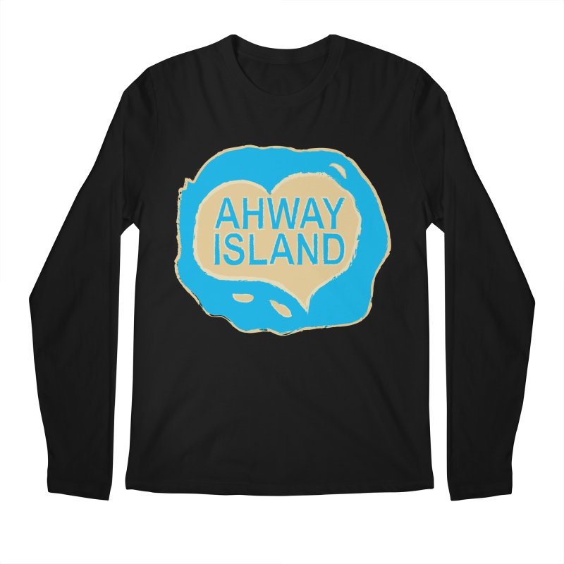 Welcome to Ahway Island Merchandise Men's Regular Longsleeve T-Shirt by ahwayisland's Artist Shop