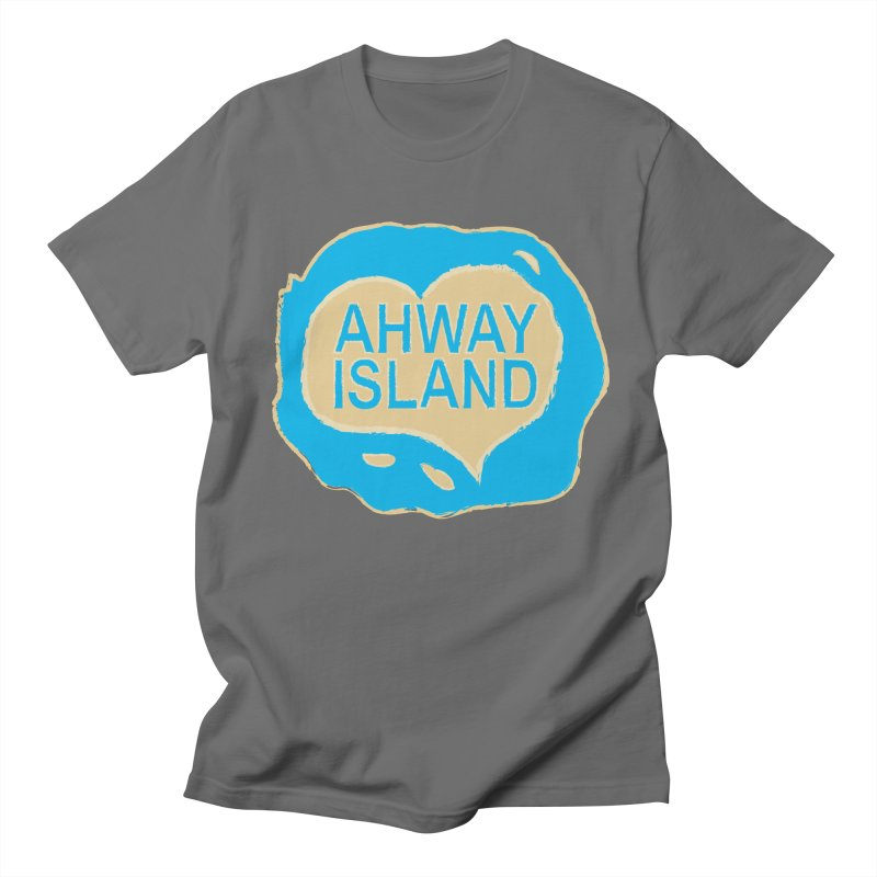 Welcome to Ahway Island Merchandise Men's T-Shirt by ahwayisland's Artist Shop