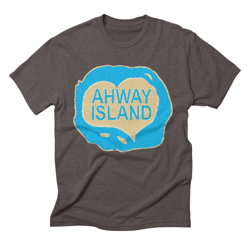 Welcome to Ahway Island Men's Triblend T-Shirt by ahwayisland's Artist Shop