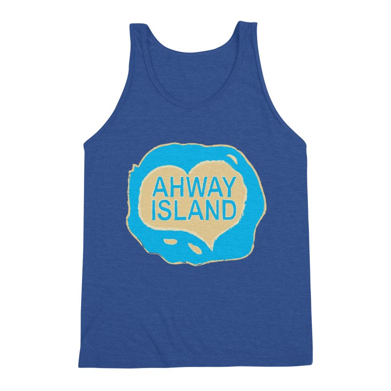 Welcome to Ahway Island Merchandise Men's Tank by ahwayisland's Artist Shop