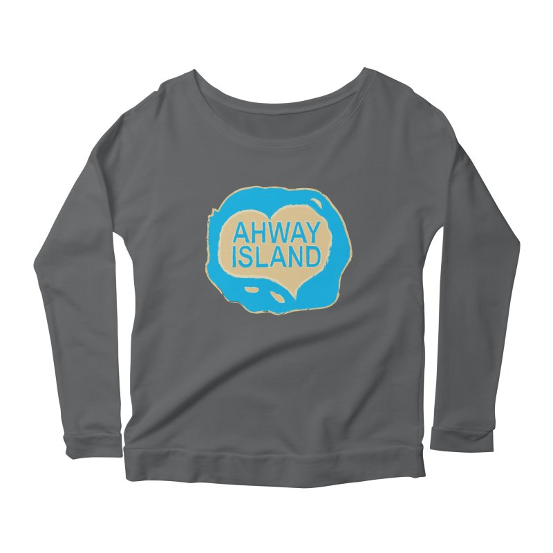 Welcome to Ahway Island Merchandise Women's Longsleeve T-Shirt by ahwayisland's Artist Shop