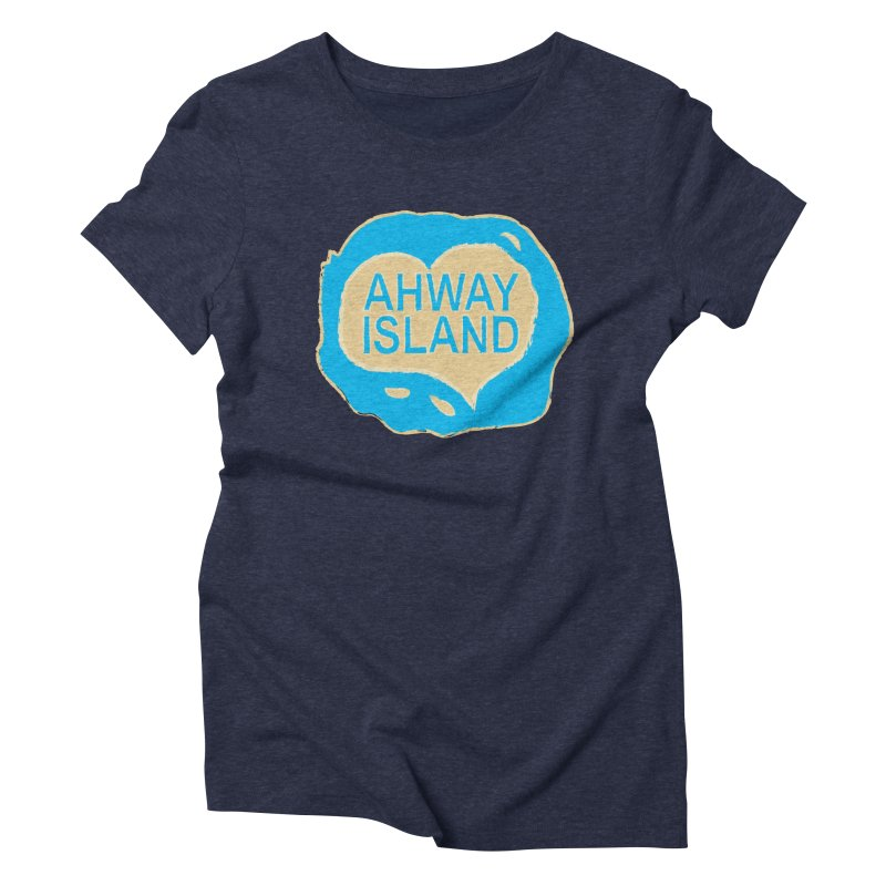 Welcome to Ahway Island Merchandise Women's Triblend T-Shirt by ahwayisland's Artist Shop