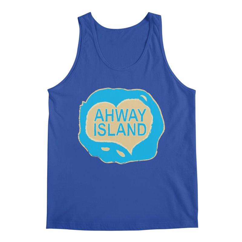 Welcome to Ahway Island Merchandise Men's Regular Tank by ahwayisland's Artist Shop
