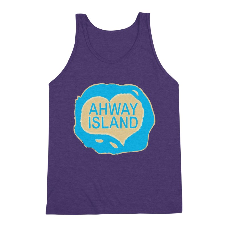Welcome to Ahway Island Merchandise Men's Triblend Tank by ahwayisland's Artist Shop