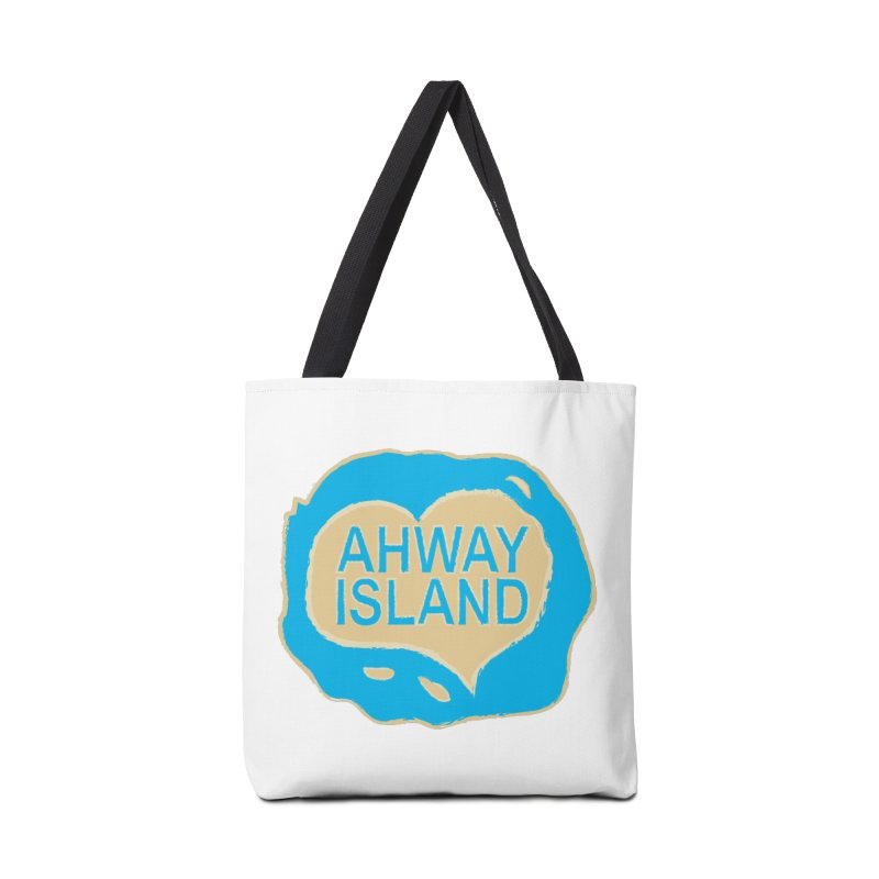 Welcome to Ahway Island Merchandise Accessories Bag by ahwayisland's Artist Shop