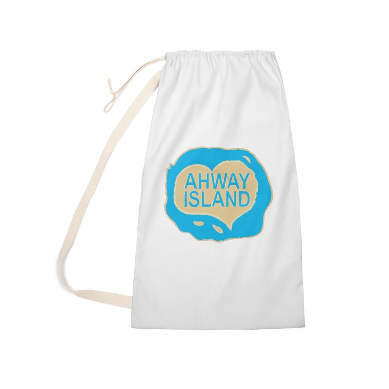 Welcome to Ahway Island Merchandise Accessories Laundry Bag Bag by ahwayisland's Artist Shop