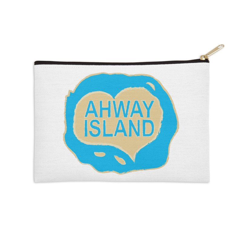 Welcome to Ahway Island Merchandise Accessories Zip Pouch by ahwayisland's Artist Shop