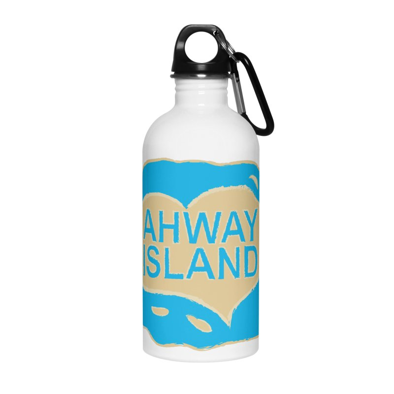 Welcome to Ahway Island Merchandise Accessories Water Bottle by ahwayisland's Artist Shop