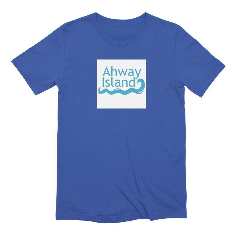 Welcome to Ahway Island Men's Extra Soft T-Shirt by ahwayisland's Artist Shop