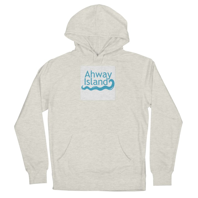 Welcome to Ahway Island Men's French Terry Pullover Hoody by ahwayisland's Artist Shop