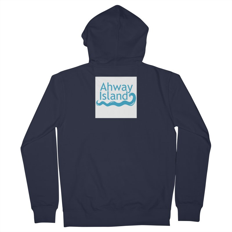 Welcome to Ahway Island Men's French Terry Zip-Up Hoody by ahwayisland's Artist Shop