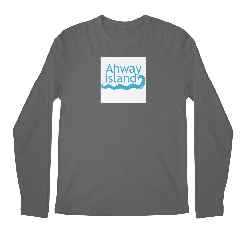 Welcome to Ahway Island Men's Regular Longsleeve T-Shirt by ahwayisland's Artist Shop