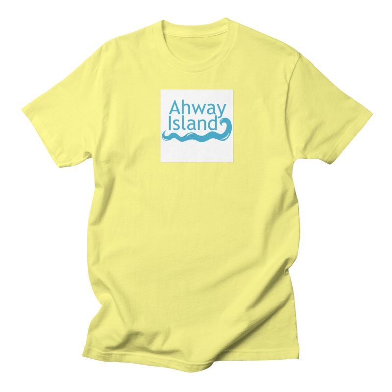 Welcome to Ahway Island Men's Regular T-Shirt by ahwayisland's Artist Shop