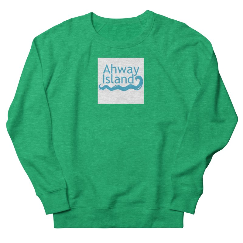 Welcome to Ahway Island Men's French Terry Sweatshirt by ahwayisland's Artist Shop