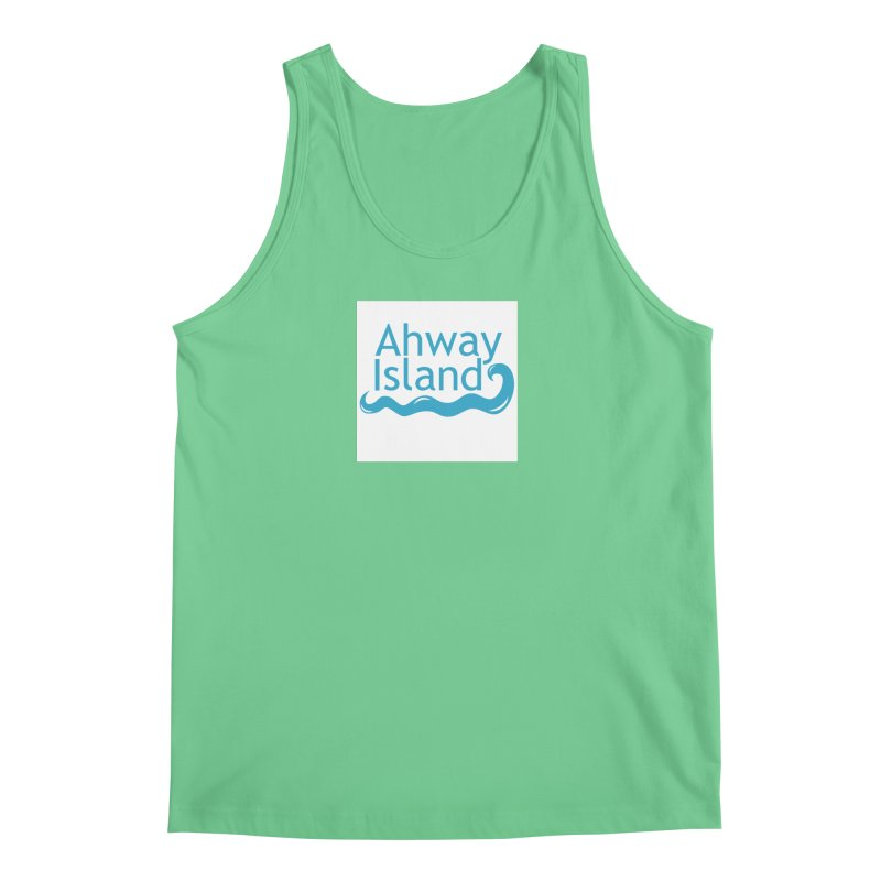 Welcome to Ahway Island Men's Regular Tank by ahwayisland's Artist Shop