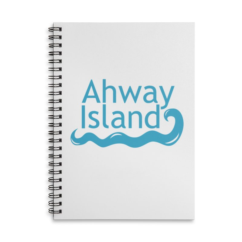 Welcome to Ahway Island Accessories Lined Spiral Notebook by ahwayisland's Artist Shop