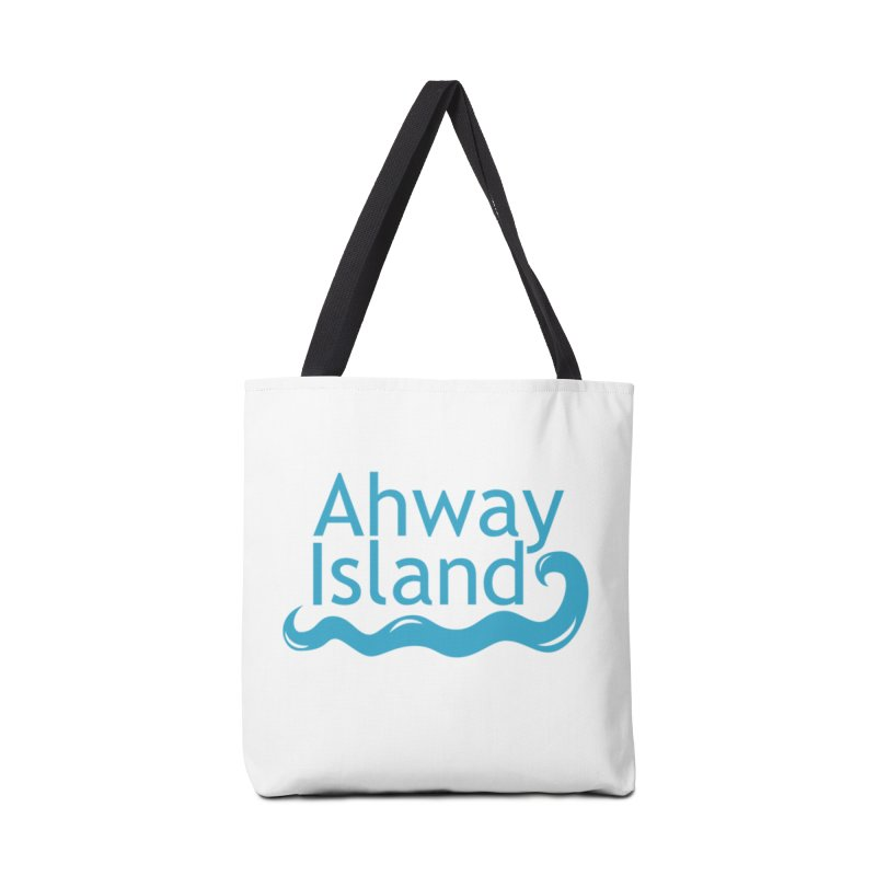 Welcome to Ahway Island Accessories Tote Bag Bag by ahwayisland's Artist Shop
