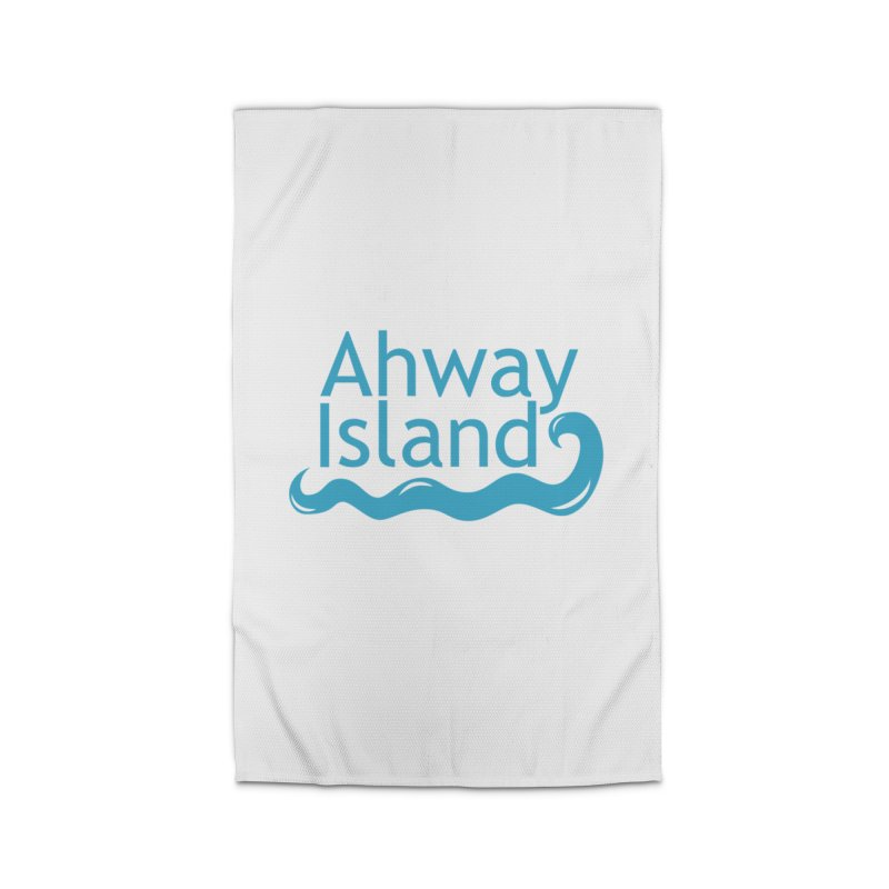 Welcome to Ahway Island Home Rug by ahwayisland's Artist Shop