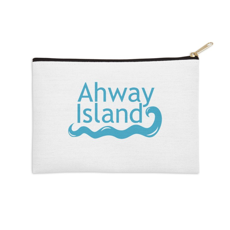 Welcome to Ahway Island Accessories Zip Pouch by ahwayisland's Artist Shop