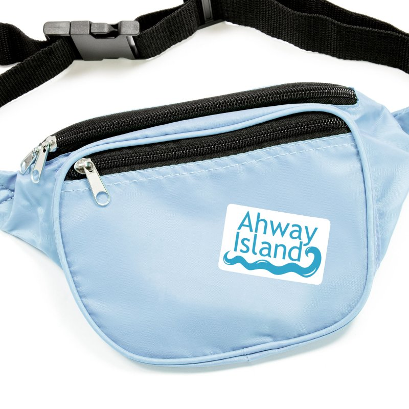 Welcome to Ahway Island Merchandise Accessories Sticker by ahwayisland's Artist Shop