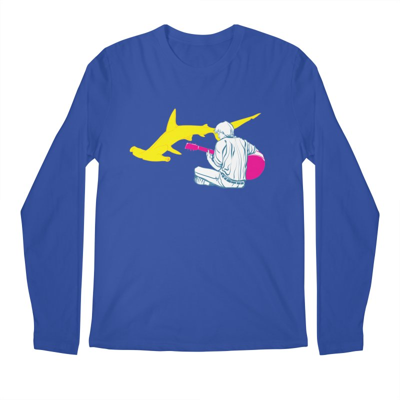 Lemonhead Shark Men's Longsleeve T-Shirt by ahyb's Artist Shop