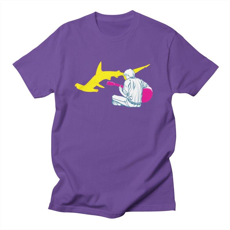 Lemonhead Shark Men's T-shirt by ahyb's Artist Shop