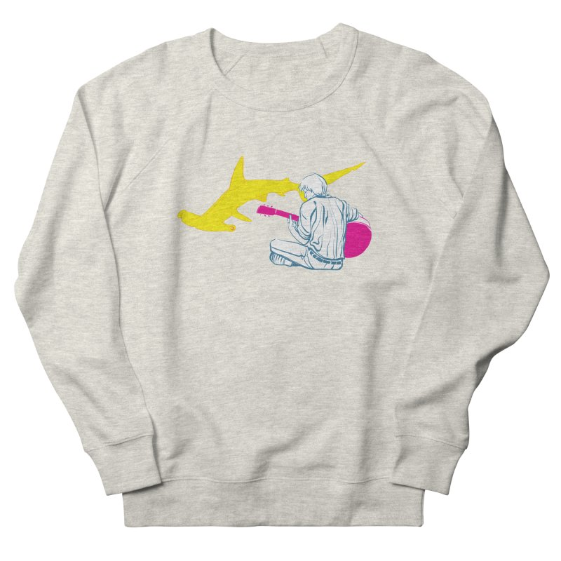 Lemonhead Shark Men's Sweatshirt by ahyb's Artist Shop