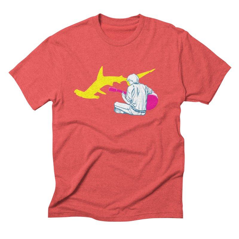 Lemonhead Shark Men's Triblend T-Shirt by ahyb's Artist Shop