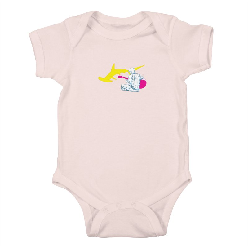 Lemonhead Shark Kids Baby Bodysuit by ahyb's Artist Shop