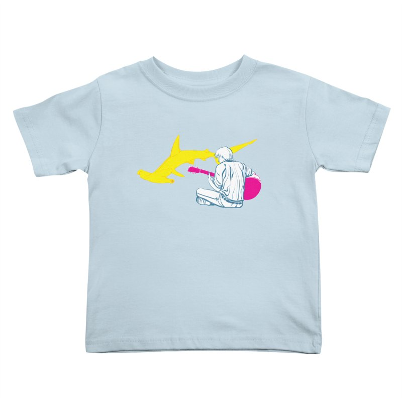 Lemonhead Shark Kids Toddler T-Shirt by ahyb's Artist Shop