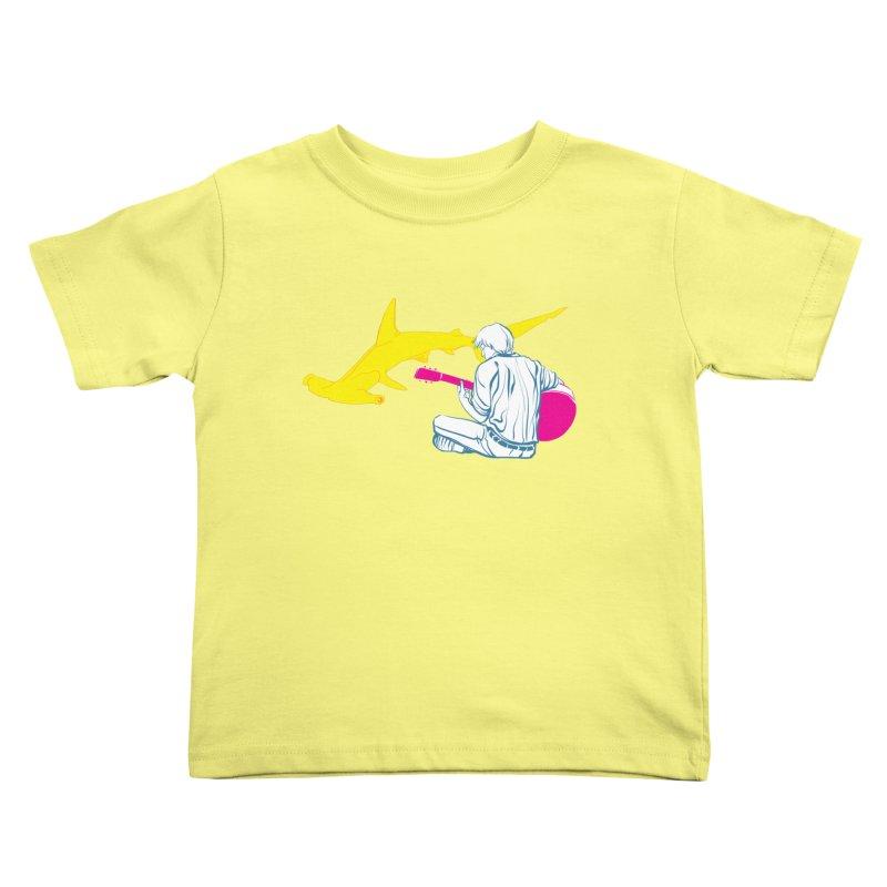 Lemonhead Shark Kids Toddler T-Shirt by ahyb's Artist Shop