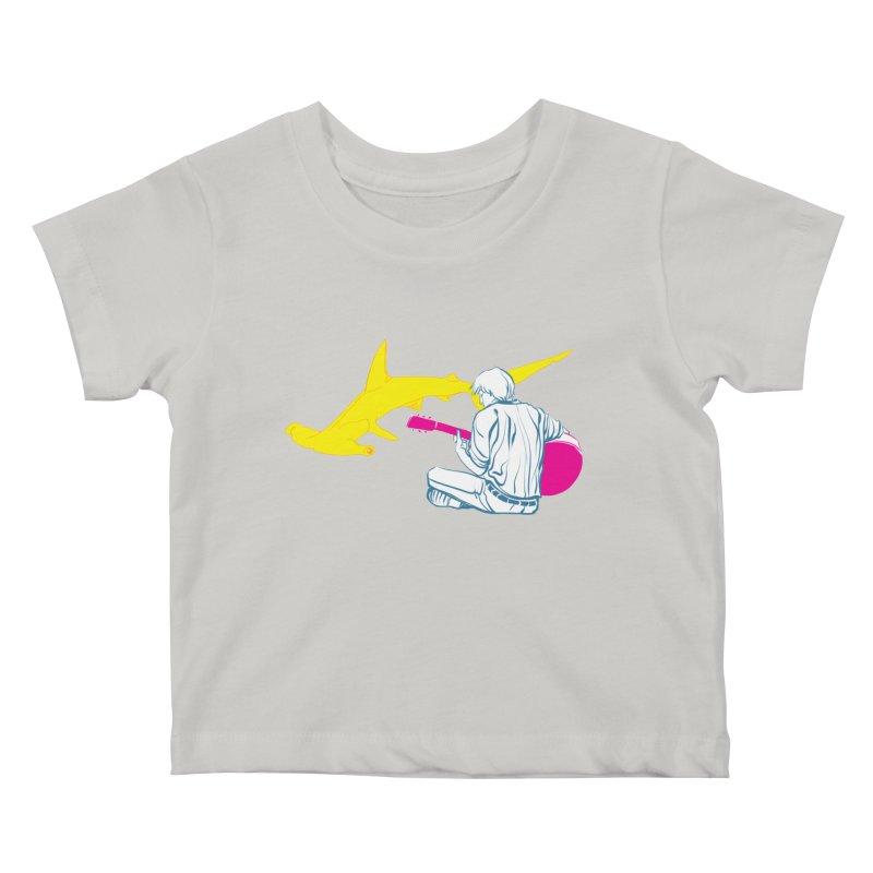 Lemonhead Shark Kids Baby T-Shirt by ahyb's Artist Shop