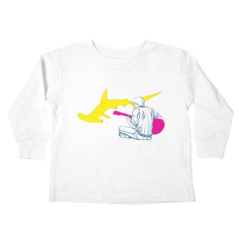 Lemonhead Shark Kids Toddler Longsleeve T-Shirt by ahyb's Artist Shop