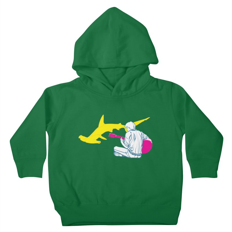 Lemonhead Shark Kids Toddler Pullover Hoody by ahyb's Artist Shop