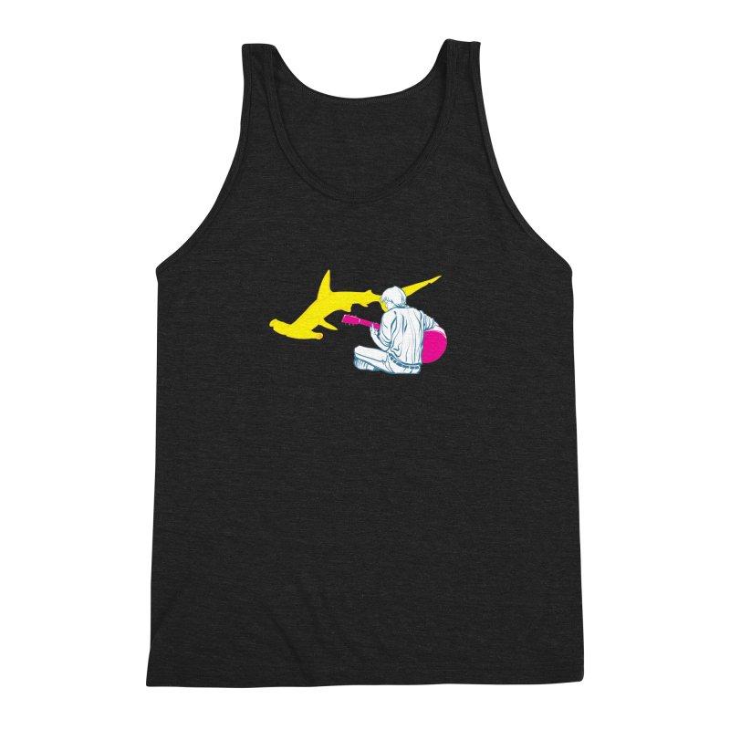 Lemonhead Shark Men's Triblend Tank by ahyb's Artist Shop
