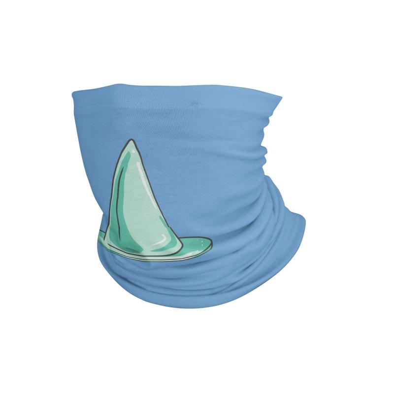 Green Witch Hat Accessories Neck Gaiter by Aidadaism