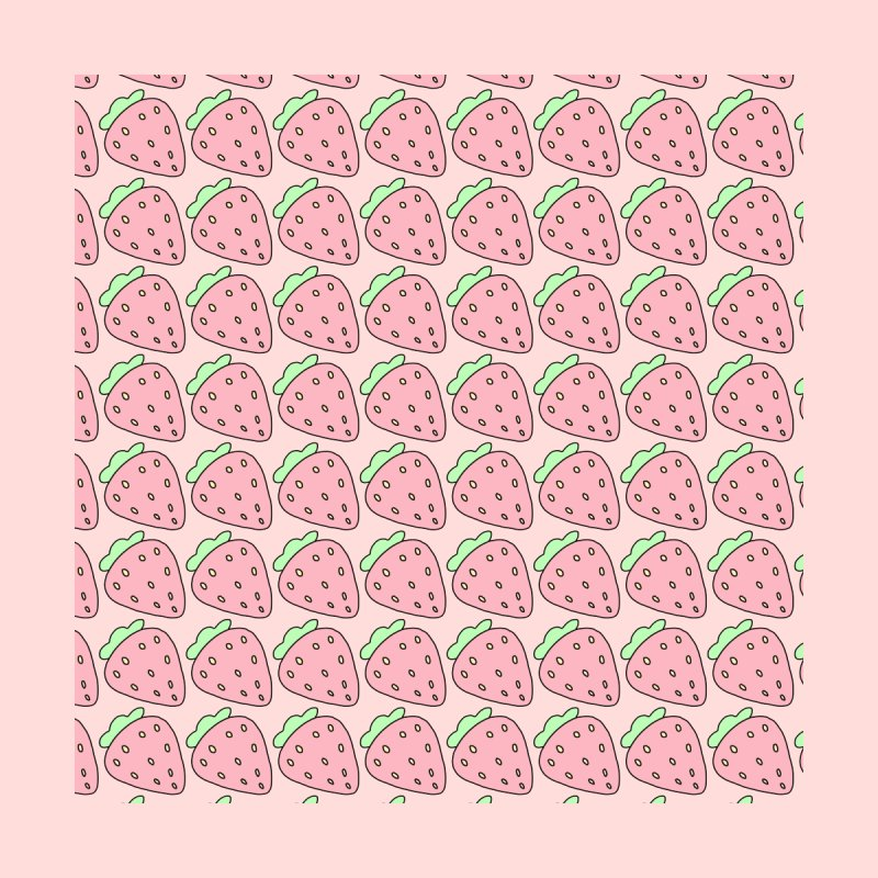 Strawberries Kids Longsleeve T-Shirt by Aidadaism