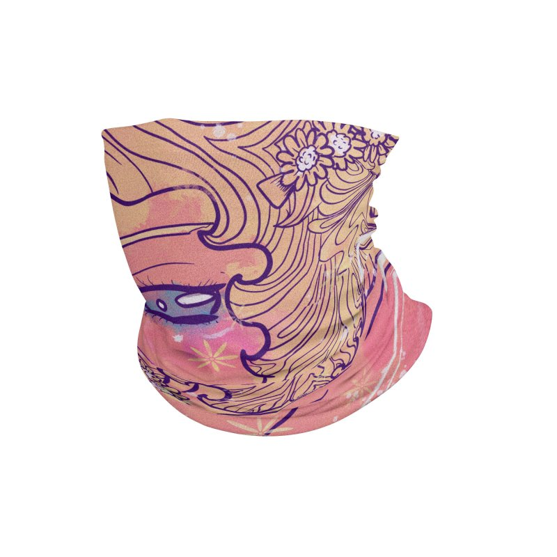 Daisy in the Evening Accessories Neck Gaiter by Aidadaism