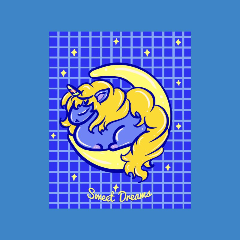 Midnight Unicorn - Sweet Dreams Men's T-Shirt by Aidadaism