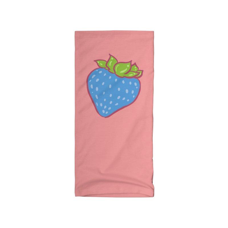 Blue Strawberry Accessories Neck Gaiter by Aidadaism