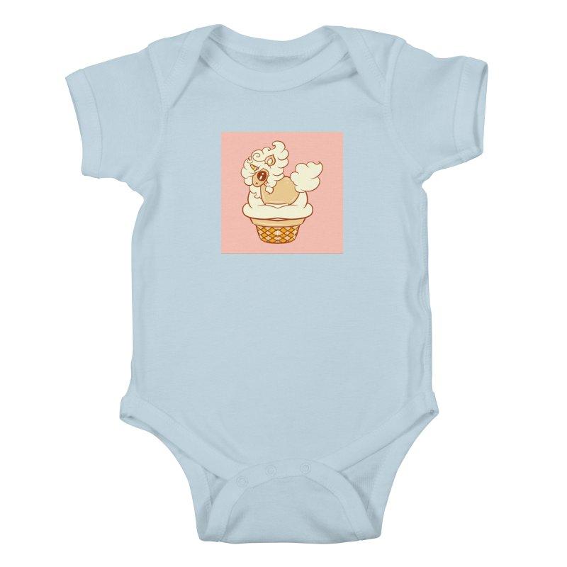 Vanilla Unicorn Kids Baby Bodysuit by Aidadaism