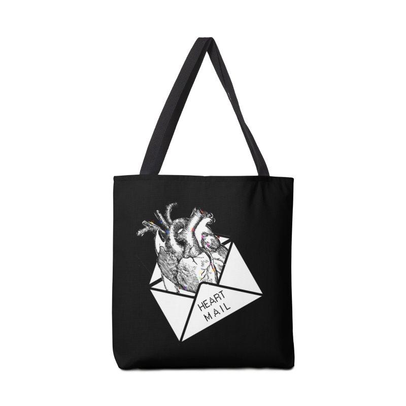 Heart Mail Accessories Bag by Aidadaism